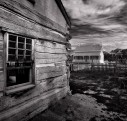 Ghost house, Grafton, Utah