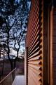 Chapaquiddick house sliding door and deck view north