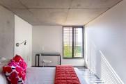 Kripalu Housing Tower guest room