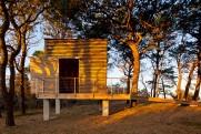 Chapaquiddick house boathouse west elevation