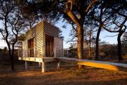Chappaquiddick house boathouse.