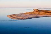 Cape Pogue Bay at the Gut.