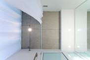 Kripalu Housing Tower guest rom bath ceiling