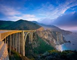 Bixby Bridge, Big Sur, California.