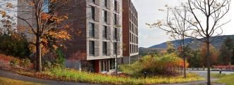 Kripalu housing tower.